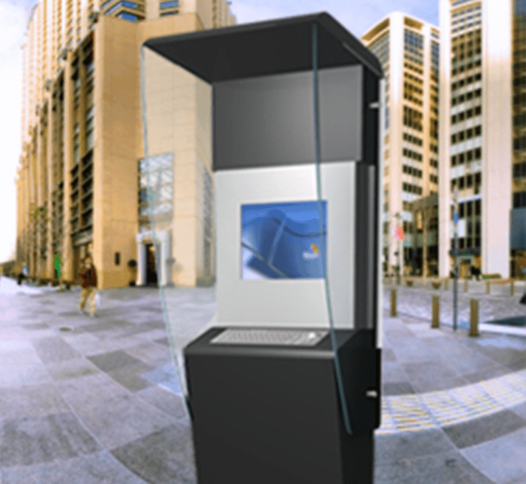 Avenita | Totemmultimedia | outside kiosk