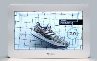 HypeBox Vetrine Interattive Adidas