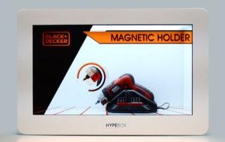 HypeBox Vetrine Interattive BlackAndDecker