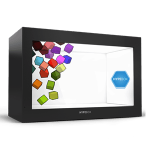 HYPEBOX vetrina interattiva multimediale