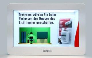 HypeBox Vetrine Interattive Honeywell