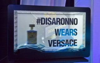 MMT HYPEBOX 32'' Black Versace Disaronno wears Versace Launch München