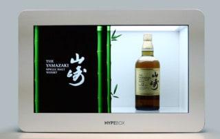 HypeBox Vetrine Interattive Yamazaki