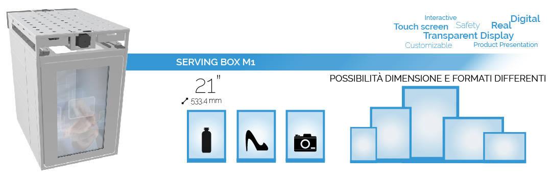 Serving Box formati e dimensioni