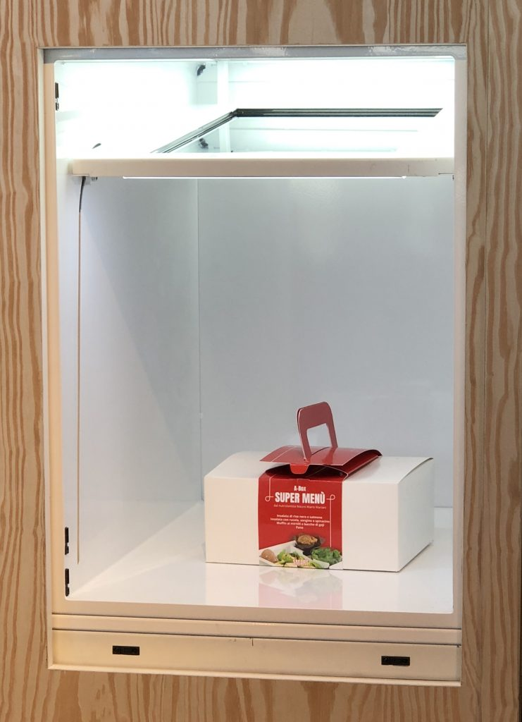 Locker Serving Box | Totemmultimedia | Autogrill