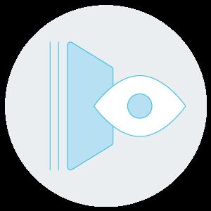 Vetrina interattiva con display ad alta risoluzione